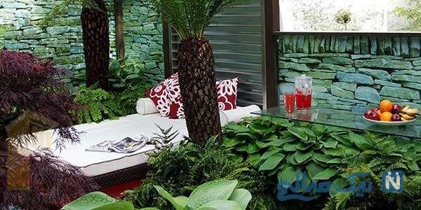 طراحی فضای سبز حیاط در چند ویلای ایرانی!