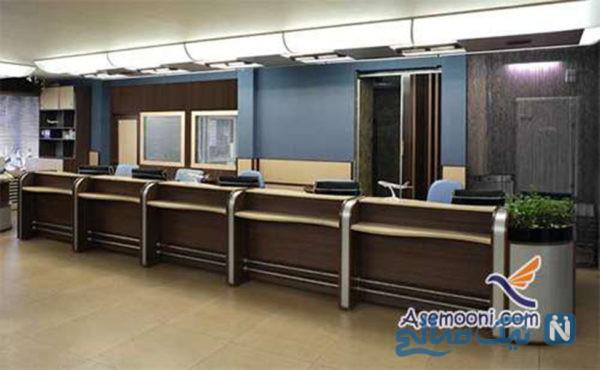 دکوراسیون داخلی آژانس هواپیمایی