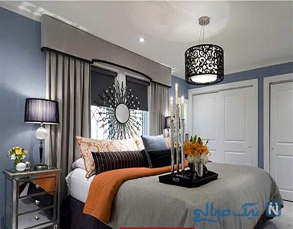 جدیدترین مدل های لوستر اتاق خواب