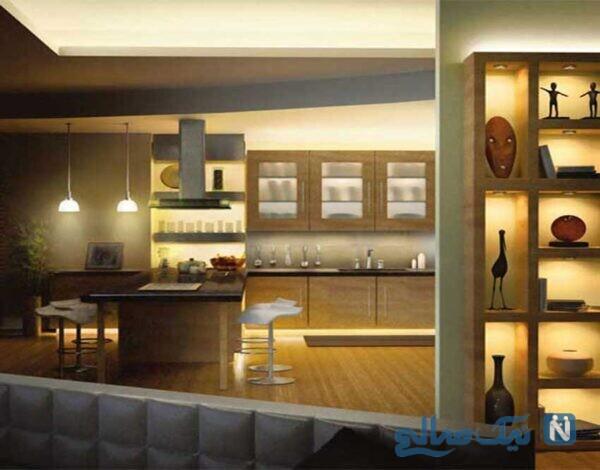 لوسترها و چراغ های مناسب آشپزخانه