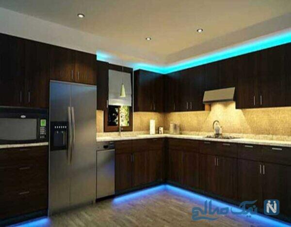 بهترین ایده ها برای نورپردازی آشپزخانه