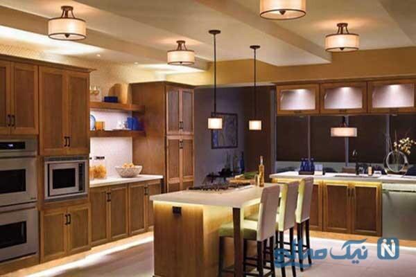نکات مهمی که قبل از نورپردازی آشپزخانه باید بدانید تا دکوراسیونی منحصربه فرد بسازید
