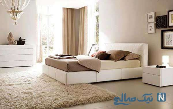 اتاق خواب بسیار شیک و زیبا