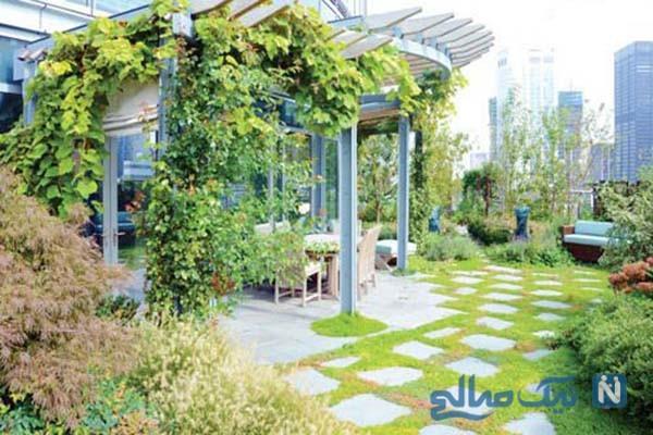 پشت بام خانه خود را بهاری کنید/ فضای سبز را در دکوراسیون آپارتمان بیاورید