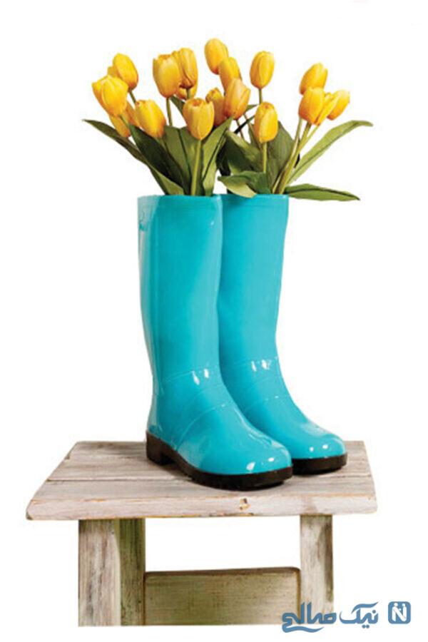 کفشهای گلدانی