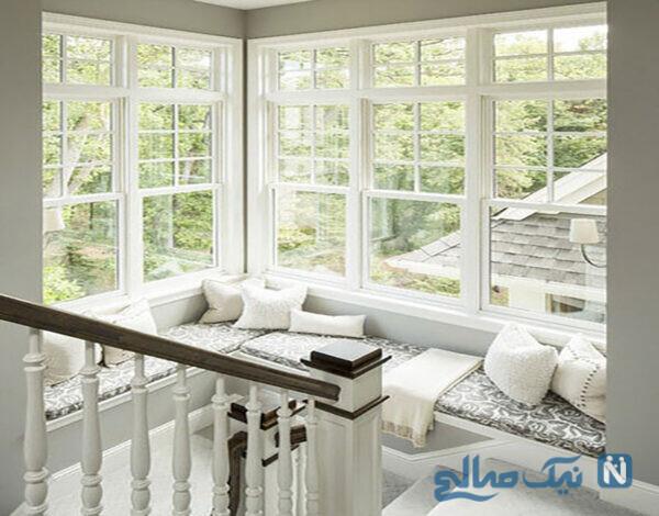 نشیمن پشت پنجره در فضاهای خاص