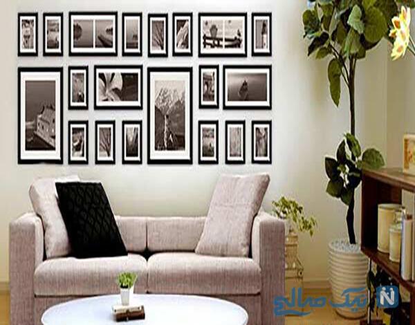 ترفند عالی برای نصب تابلوها در خانه
