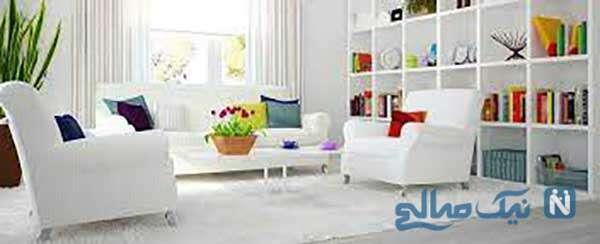 انواع رنگ سفید در دکوراسیون داخلی را بشناسید!!