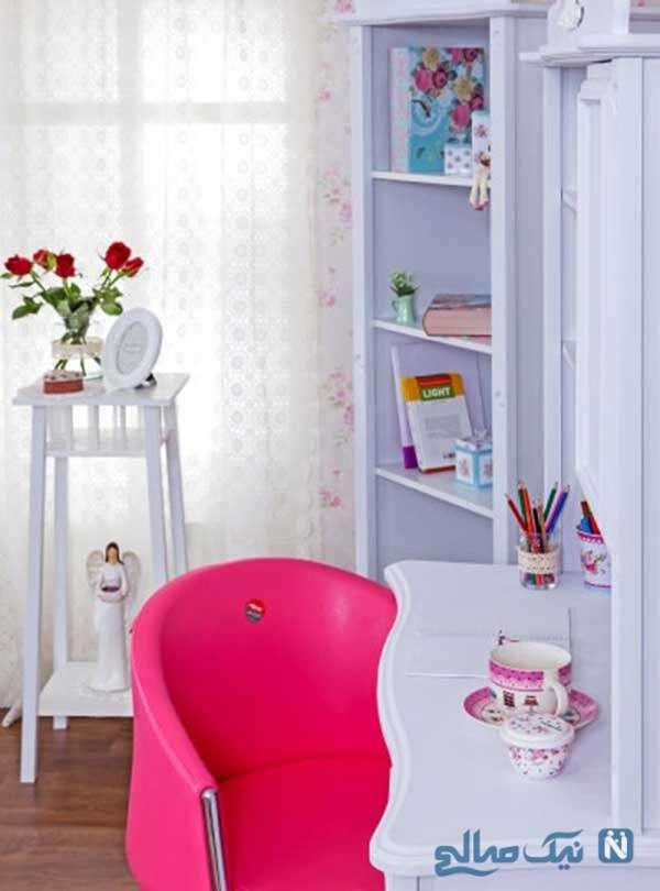 طراحی های رمانتیک برای اتاق دخترانه