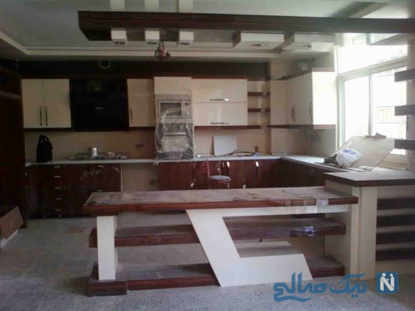 آشپزخانه مدرن ایرانی