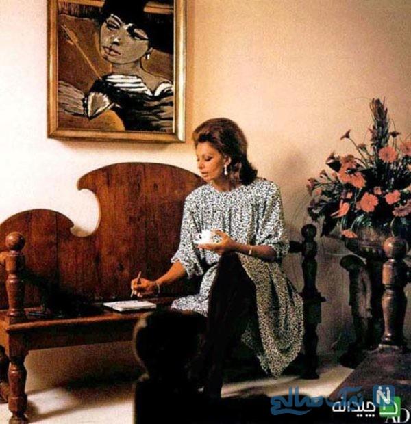 دکوراسیون منزل سوفیا لورن