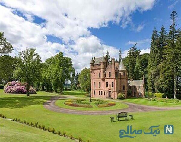 دکوراسیون قلعه ی بسیار زیبای تِیلور آلیسون