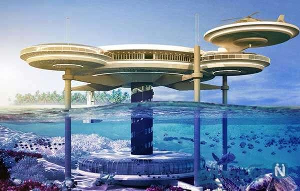 سازه های زیر آب