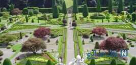 شکوه معماری در باغ گردشگری کیهانی