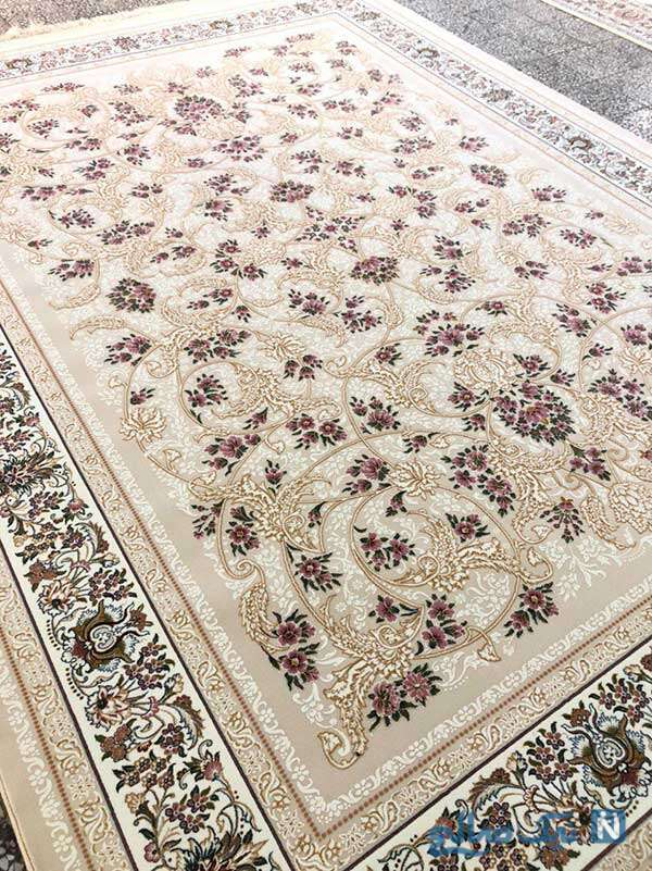فرش ابریشم شیک