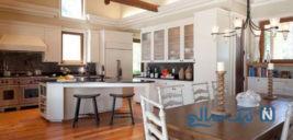 مزیتهای آشپزخانه اپن واصول چیدمان آن به شیک ترین مدل+تصاویر