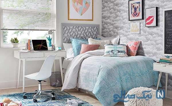 رنگ سفید در اتاق خواب