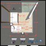 اصول طراحی سرویس بهداشتی کوچک و بسیار شیک در آپارتمان کوچک+تصاویر