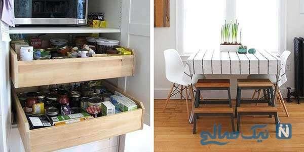 با این اکسسور های کابینت، نظم را در کابینت های خانه احساس کنید!