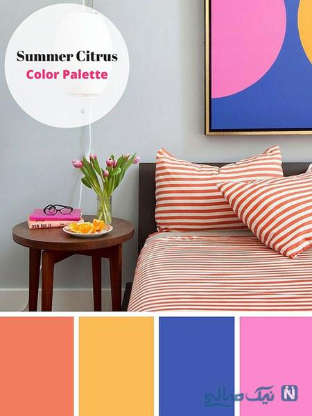 ترکیب رنگ های زیبا
