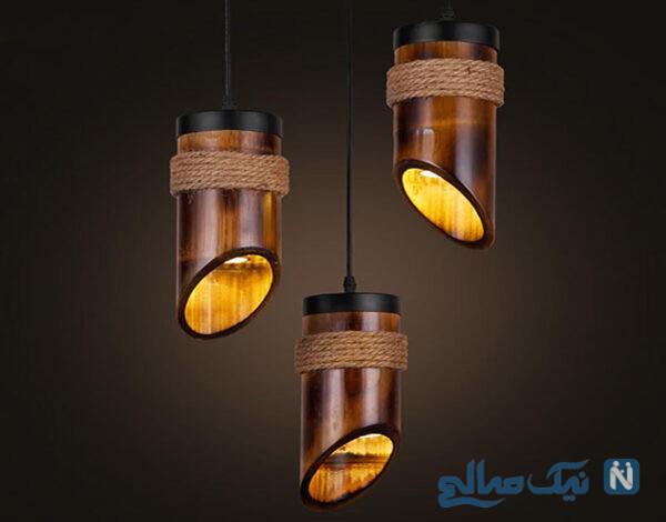ایده های خلاقانه با چوب های بامبو