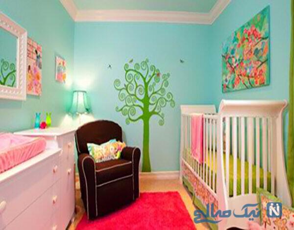 سیستم گرمایشی و سرمایشی اتاق کودک