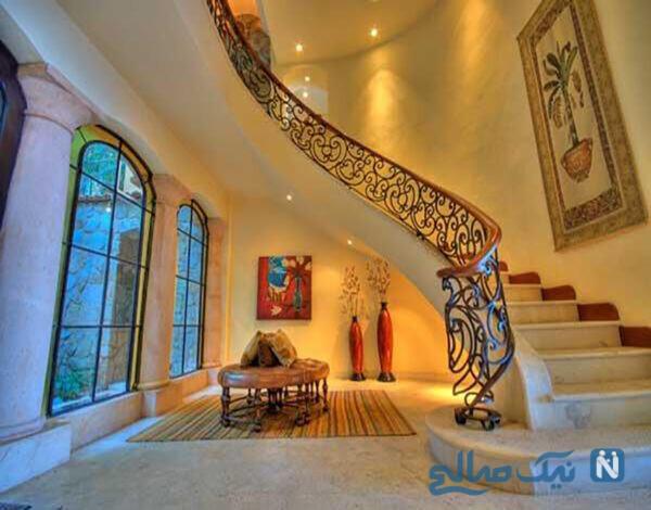 مدل پله برای خانه های مدرن