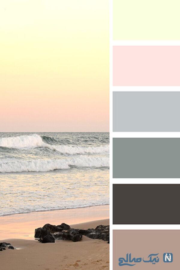 ترکیب هایی از رنگ ها