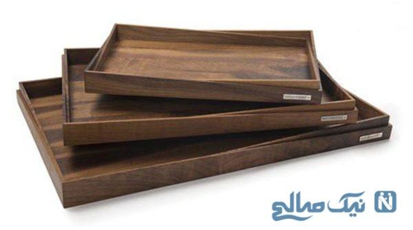 دکوراسیونی بسیار متفاوت با دکور چوبی در آشپزخانه+تصاویر