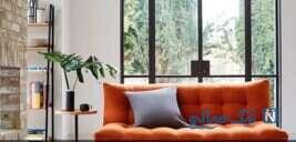 دکوراسیون خانه خودررا با کاغذ و پارچه متحول کنید