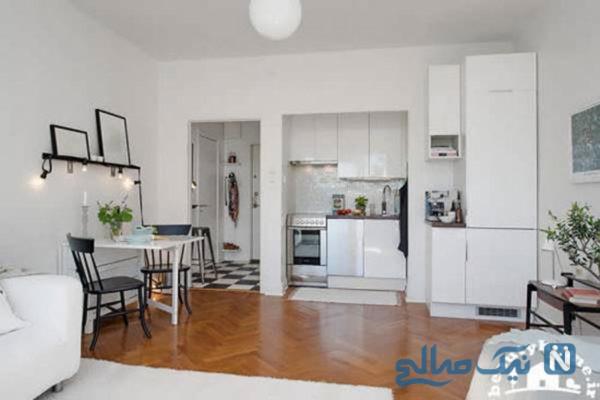 دکور آپارتمان های کوچک