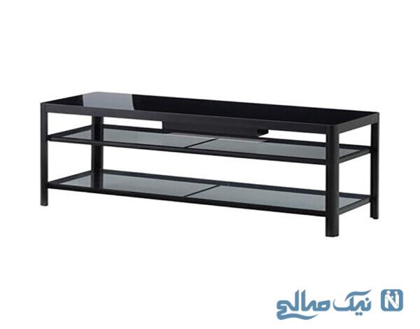 میز تلویزیون پازلی با امکان تغییر و تنوع در شکل ظاهری