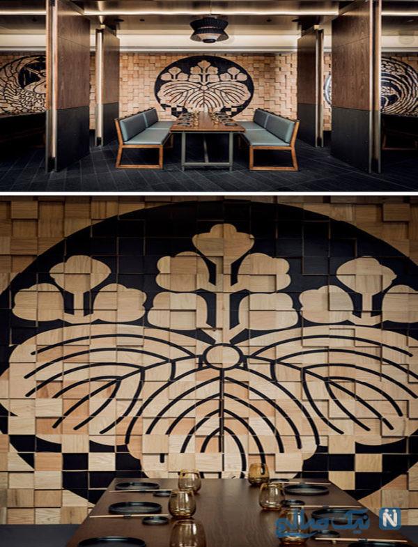 طراحی داخلی رستوران ژاپنی