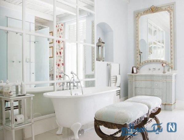 ایده هایی بسیار زیبا و کاربردی برای طراحی حمامی شیک و مدرن+تصاویر