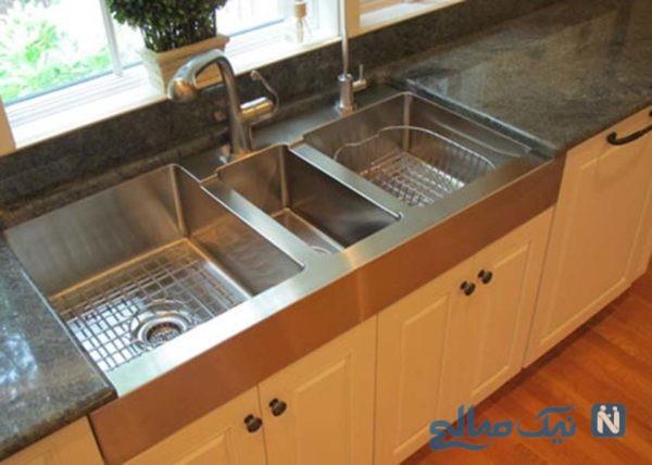 انواع سینک های ظرفشویی