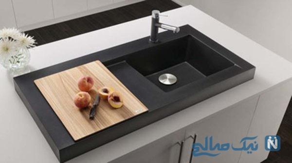 با انواع سینک های ظرفشویی آشنا شوید +تصاویر