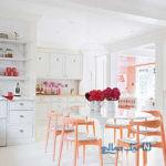 با این ایده های رنگی چیدمان آشپزخانه تان را متفاوت و بسیار چشم گیر کنید+تصاویر