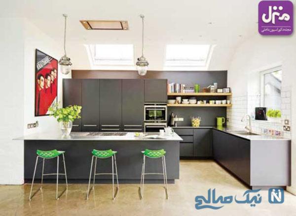 با این تغییرات مدرن در دکوراسیون آشپزخانه، آنجا را به فضایی راحتتر برای آشپزی تبدیل کنید +تصاویر