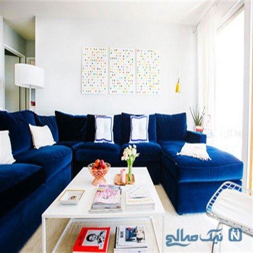 تا حالا به ترکیب سفید و فیروزه ای برای دکوراسیون خونه فکر کرده اید؟ +تصاویر