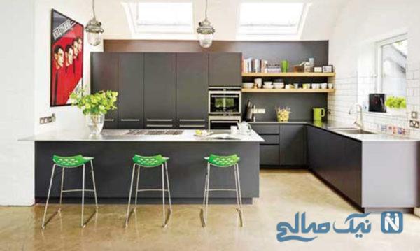 دکوراسیون آشپزخانه آخرین سیستم این امکانات را دارد+تصاویر