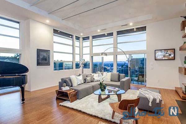 دکوراسیون داخلی خانه زیبا و آرامش بخش پل ویسلی، بازیگر، تهیه کننده و کارگردان مشهور آمریکایی