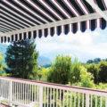 راهحلهایی برای ایجاد حریم تراس و بالکن خانه با استفاده از المان های خانه و معماری ایرانی +تصاویر