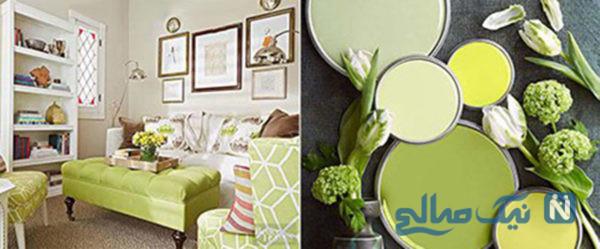 زیباترین ترکیب رنگ های تابستانی برای دکوراسیون اتاق نشیمن+تصاویر