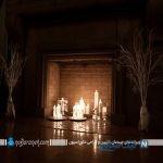 شمع های زیبای داخل شومینه ، یک ایده بسیار جالب برای نورپردازی فضای خانه +تصاویر