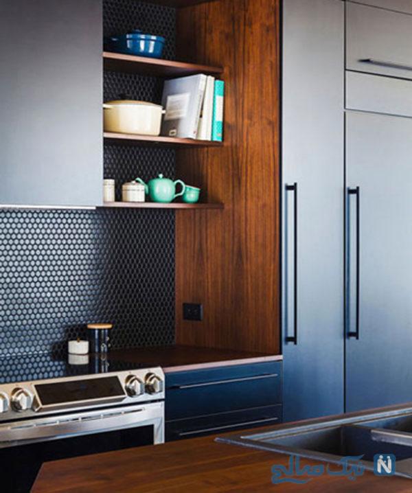 طراحی آشپزخانه مدرن و شیک