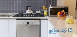 فانتزی کردن فضای آشپزخانه با استفاده از کتری و قوری ! +تصاویر