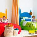 فضای اتاق مشترک بچه ها یتان را شاد و دوستداشتنی بچینید