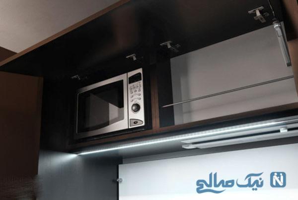 چیدمان آشپزخانه کوچک ایرانی