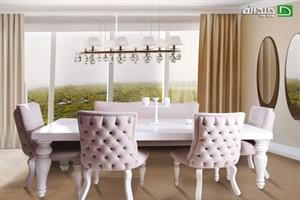 اهمیت میز ناهارخوری در طراحی دکوراسیون منزل +تصاویر