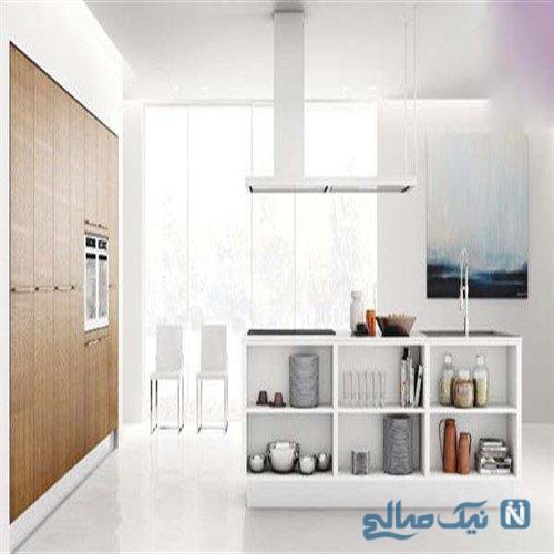 دکوراسیون آشپزخانه نقلی خود را اینگونه تغییر دهید +تصاویر
